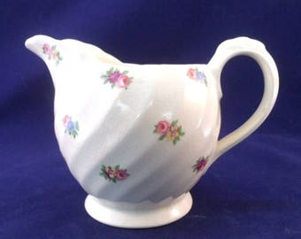 Royal Staffordshire Creamer, Devonshire by Clarice Cliff