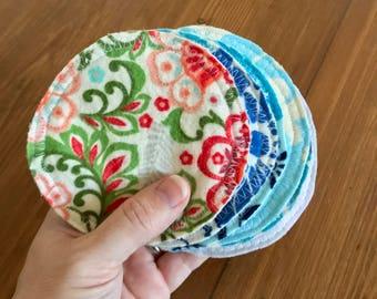 Nursing Pads Reusable Eco Friendly Cloth set of 6