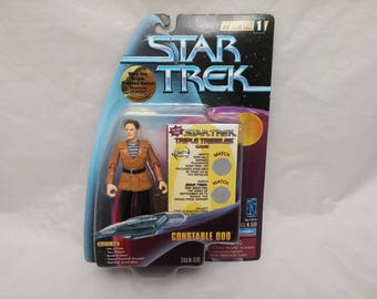 Star Trek Deep Space Nine Constable Odo Action Figure - New in Box - NIB - Trouble With Tribbles Temporal Investigations Episode
