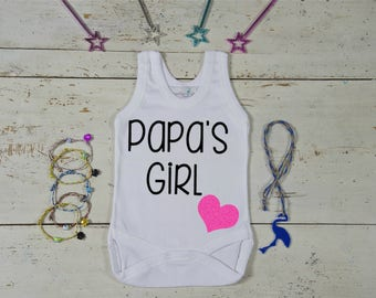 Papa's Girl Onesie,Gift for New Daddy,New Daddy Gift-Baby Gift Idea-Baby Shower Idea,Daddy Present, Papa Present, Sweet Onesie, Papa's Girl