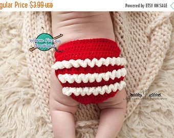 SUMMER SALE Instant Download PDF Crochet Pattern - No. 58 Ruffled Diaper Cover - 3 Sizes