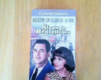 Strange Bedfellows (VHS, 1996) Rock Hudson