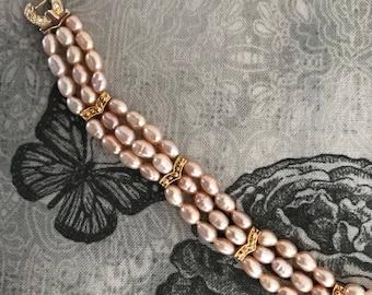 "Vintage Bracelet marked ""China"" on clasp"
