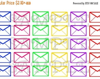 Envelopes // Planner Stickers // Envelope // Colorful // Track // Mail // Happy Mail // Post //