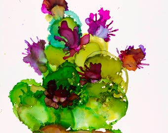 Alcohol Ink Painting Etsy