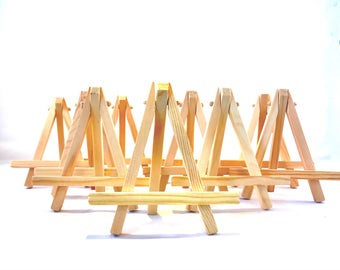 mini wood easel small art easel table number holder wedding place card holder tabletop easel painting easel 10 mini easel