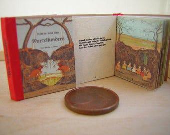 Etwas von den Wurzelkindern miniature book 1/12