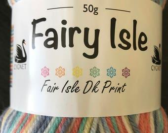 Cygnet Fairy Isle DK Yarn