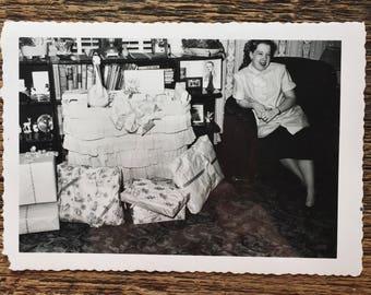 Original Vintage Photograph | Betty's Baby Shower