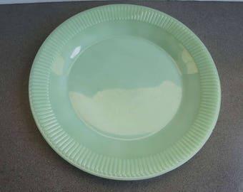 Vintage Jadite Jane Ray Fire King Plate Jadeite Dinner Plate