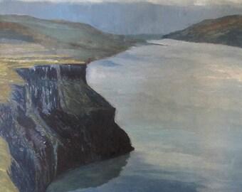 Columbia River Gorge Cliffs