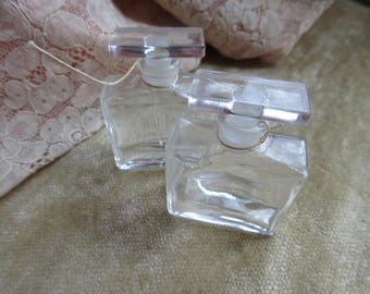 Pair of Old to Antique Perfume Bottles