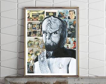 Poster of Chief Security Officer Worf