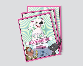 NEW The Adventures of Lucy Snigglefritz: Book Two - Illustrated Children's Book