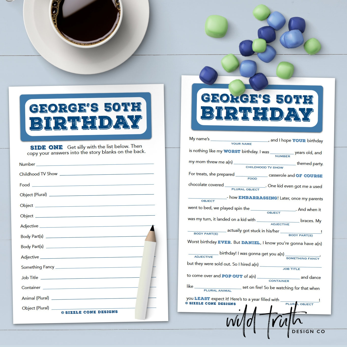 50th Birthday Party Ideas and Games  Play Party Plan