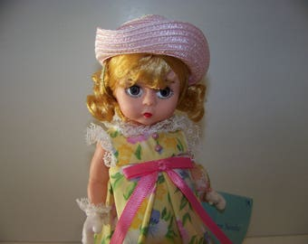Easter Sunday Madame Alexander 8 in doll w basket