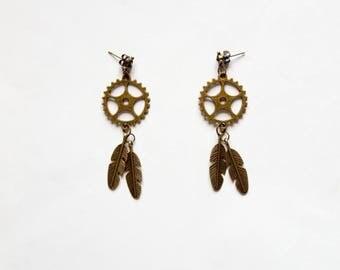 "Earrings ""Indian Spirit"""