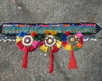 Kuchi Dance Belt Tribal Wear-Festival clothing