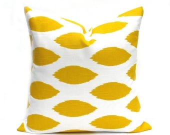 15% Off Sale YELLOW PILLOW, Yellow pillow cover, decorative Pillow , throw pillow cover, accent pillow, Yellow cushion cover, pillows, throw