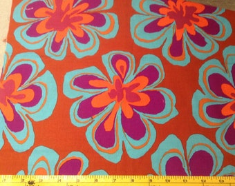 Flora Quilting fabric, Brandon Mably  for Rowan, Remant