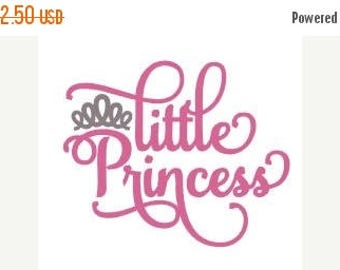 ON SALE Little Princess Embroidery Design - Instant Download