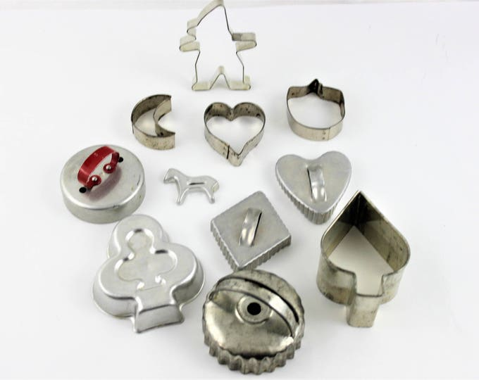 Vintage Cookie Cutters Miscellaneous sizes and shapes