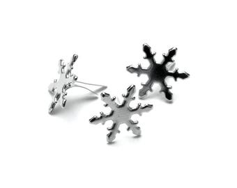 Metal Paper Fasteners 300/Pkg- trees, hearts, stars, leaves, snowflakes