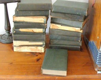 1916 Seventeen Book Set, Authorized Uniform Edition Of The Works Of Mark Twain, Lower Price!