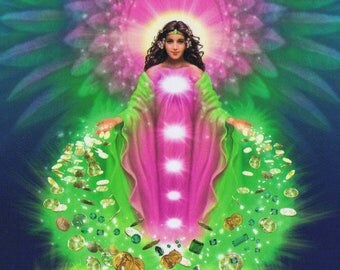 Angels of Abundance Channeled Oracle Reading - PDF Document