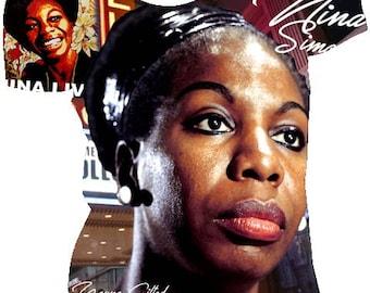 Nina Simone T-Shirt.  Black History t-shirts