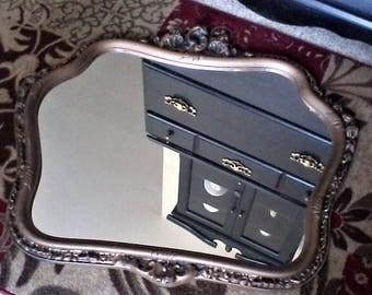 Gold Syroco Mirror