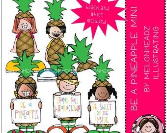Be a Pineapple clip art - Mini