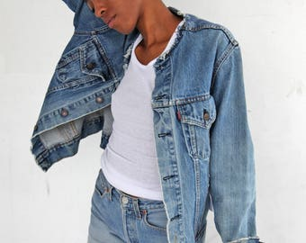 70s LEVI'S Jean Jacket size M/L