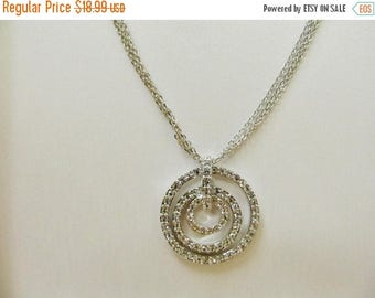 ON SALE NOLAN Miller Crystal Circle Necklace Item K # 2157