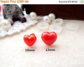 On Sale Samples Safety Noses 10pcs Red Noses Teddy Bear Nose Plastic Noses come with washers 10mm/12mm