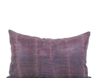 12 x 20 Pillow Cover Ikat Pillow Cover Old Ikat Pillow Cover Throw Pillow Decorative Pillow FAST SHIPMENT with ups or fedex - 09021