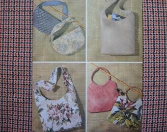 2000s sewing pattern Butterick 3873 Fashion Handbags one size