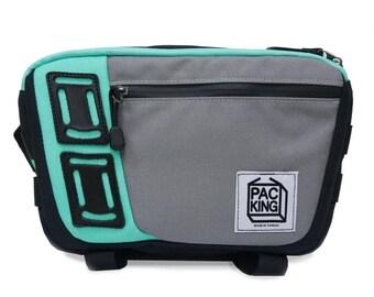 Camera Bag / Shoulder Bag / Cross-body bag / Gray / PakKing