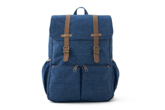 CARRYALL Moms & Dads Diaper Bag / Blue Denim