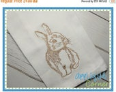 40% OFF INSTANT DOWNLOAD 2095 Bunny 3 Embroidery Design applique design in digital format for embroidery machine by Applique Corner