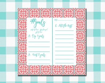 KISS(Keep It Simple Stationery) #goals Pads