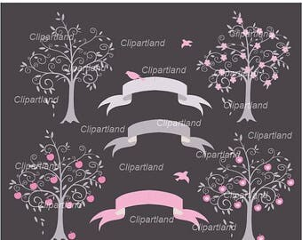 ON SALE INSTANT Download.  Tree 1. Personal and commercial use.