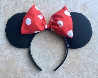 Original Plain Minnie Mouse Ears