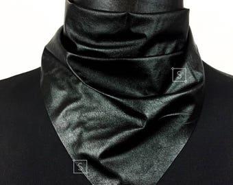 Gunner Fuax Leather Bandana