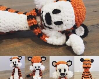 Mini Crochet Tiger Stuffed toy
