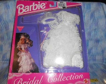 1992 Barbie Wedding Dress In Package-Bridal Collection