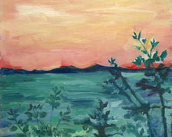 Mangrove Forest - limited edition print of an original oil painting