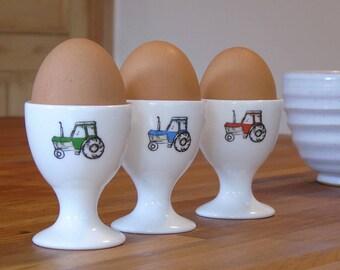 Tractors Egg Cup