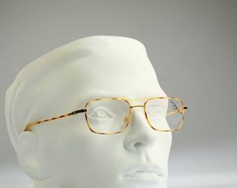 Vogue Mod Drake NERO  ORO    / Vintage eyeglasses and sunglasses / NOS / 90s rare and unique
