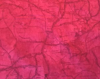 Map  (Color M) from Classic Indian by J. Wecker Frisch for Quilting Treasures